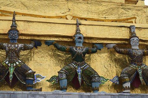 Thailand, Buddhism, Gold