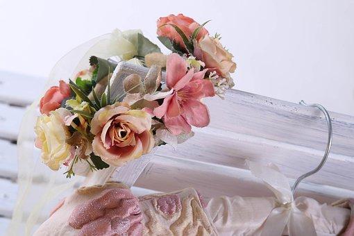 Flowers, Vase, Bouquet, Colorful, Wedding