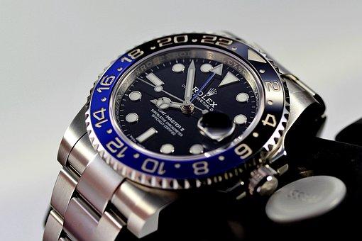 Rolex, Gmt, Master, Blnr, Clock, Watch