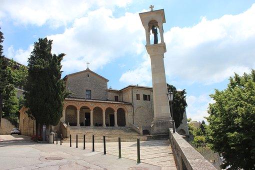 San Marino, Church, Architecture, Sights