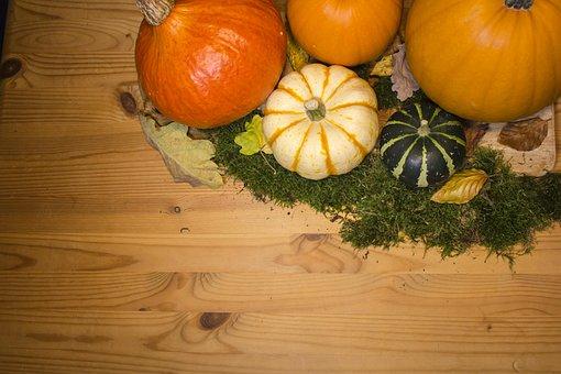 Pumpkin, Pumpkins, Background, Autumn, Patch, Fall