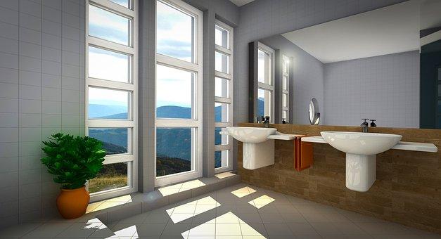 Bad, Apartment, View, Gallery, Presentation, Interior