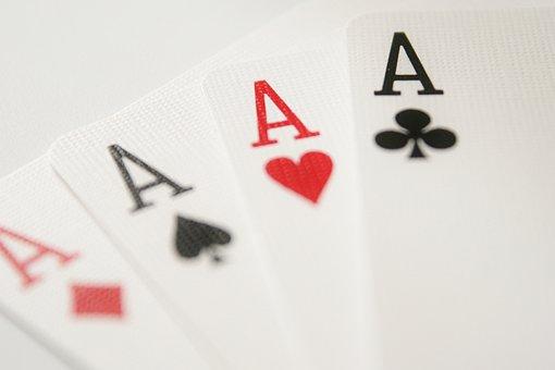 Ace, Cards, Strength, Play, Diamonds, Hearts, Spades