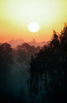 Sunset, Cairo, City, Egypt, Natural Spectacle, Romantic