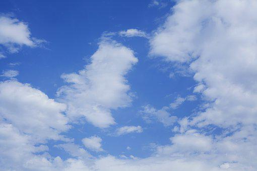 Cloud, Blue, Atmosphere, Oxygen, High, Air, Beautiful