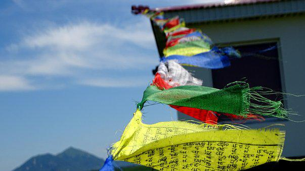 Flags, Buddhism, Mantra, Meditation, Culture, Religion