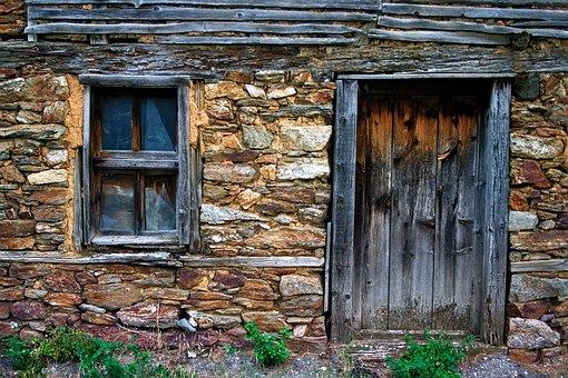 Door, Windows, House, Architecture, The Building