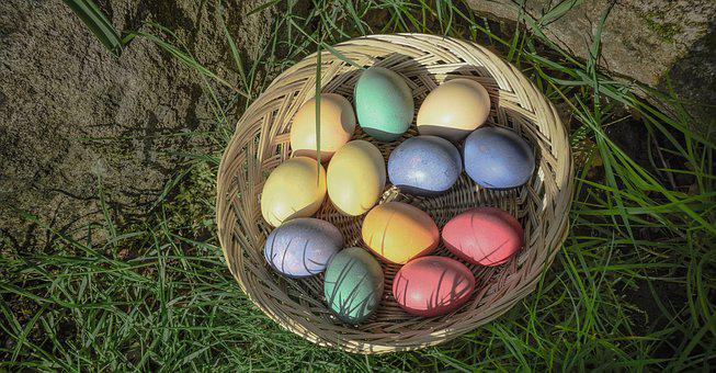 Easter, Eggs, Colorful, Spring, Cute, Food, Painted