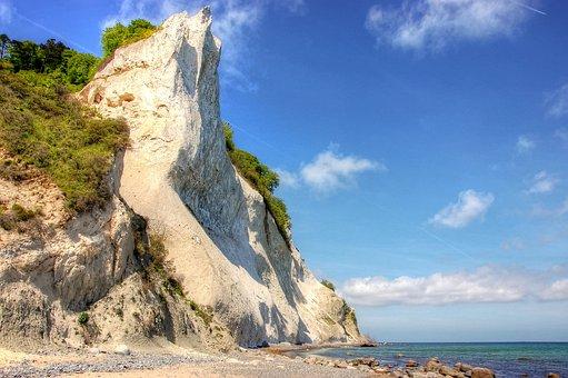 Island, Món, Denmark, Landscape, Moen, Nature, Holiday