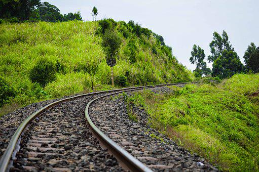 Landscape, Photography, Railway