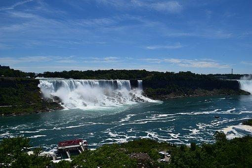 Niagara Falls, Water, Water Falls, Ontario, Niagara