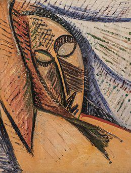Picasso, Museum, Painting, Oil, New York, Work, Art