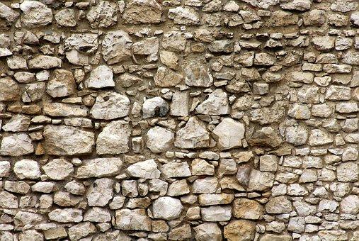 Lake Dusia, Wall, Stone Wall, Texture, Pattern