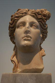Bust, Sculpture, Museum, Rome, Hellenic, Turkey