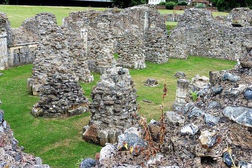 Abbey Ruins, Henry Viii, Monastery, Ruin, St, Augustine