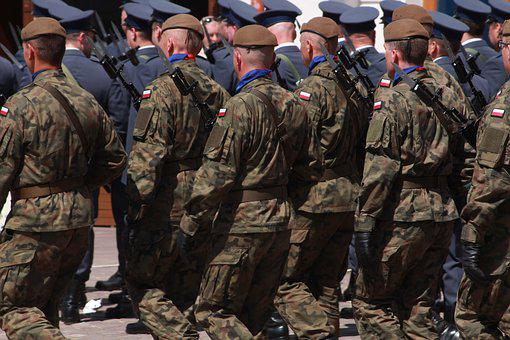 Soldiers, The Military, Parade, Defense, Military