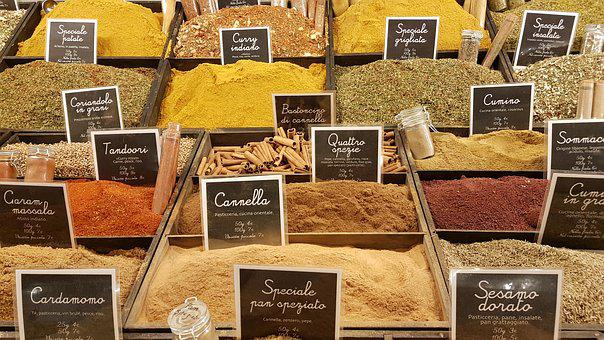 Spices, Italy, Food, Spice, Mediterranean, Curry