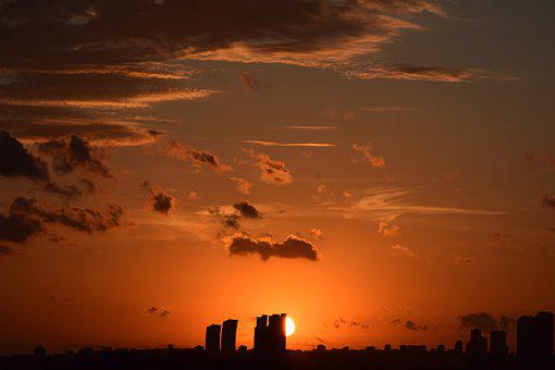 City, Istanbul, Sunset, Clouds, Offer, Solar, Cloud