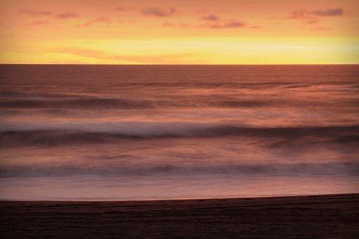 Landscape, Sunset, The Landscape, Nature, View, The Sea