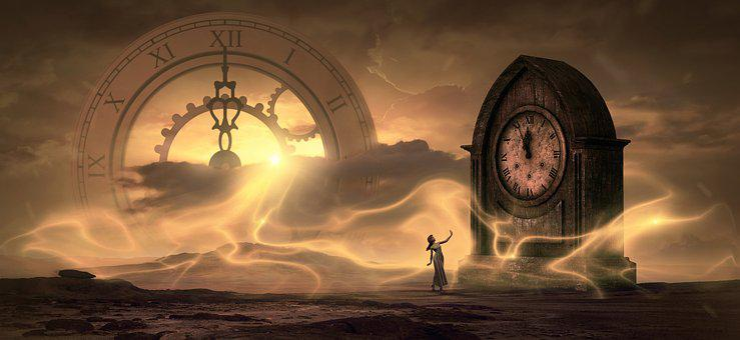 Fantasy, Clock, Time, Light, Magic, Dream, Surreal