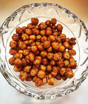 Roasted Chickpeas, Healthy Recipes, Vegetarian