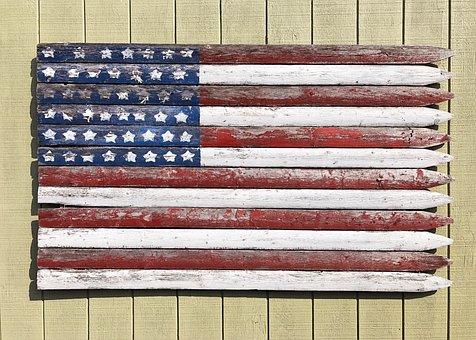 Flag, Usa, America, Red, White, Blue, Stars, Stripes