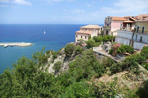 Agropoli, Italy, Mediterranean, Cilento, Sea, Outlook