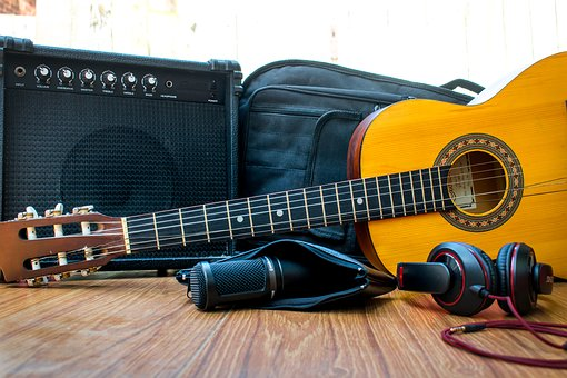 Concert, Guitar, Device, Volume, Audio, Power
