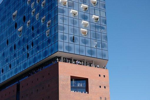 Elbe Philharmonic Hall, Hamburg, View, Balcony
