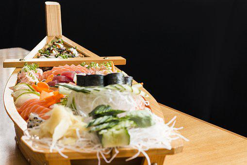 Japonese Food, Food, Enjoy, Japanese Food, Boat, Barca