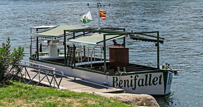 Barca, River, Boat, Holiday, Landscape, Summer, Nature