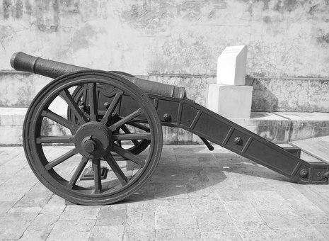 Fort, Nahargarh, Cannon, Gun, Castle, Tunnel, Fortress