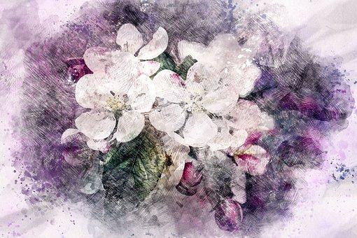 Floral, Botanical, Romantic, Romance, Chic, Boho