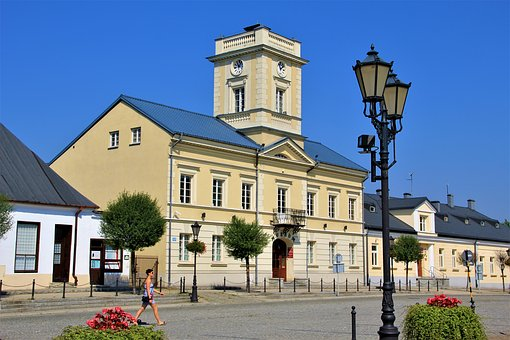 Poland, City, Architecture, Building, Tourism, Road