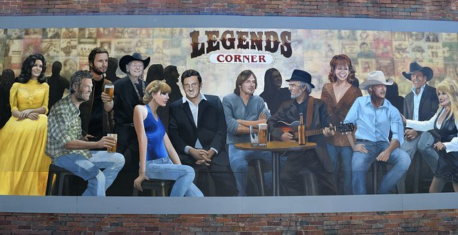 Wall Mural, Country Music, Entertainment, Nashville
