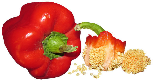 Vegetable, Capsicum, Seed, Food, Healthy, Cooking