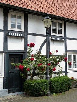 Rheda-wiedenbrück, Germany, Rheda, Truss, Old Town