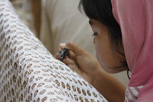 Make Batik, Girl, Batik, Fashion, People, Teenagers