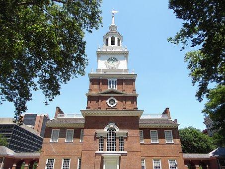 Independence Hall, Philadelphia, Historic, History