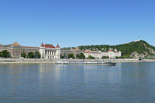 Budapest, Hungary, Building, City, Danube, River
