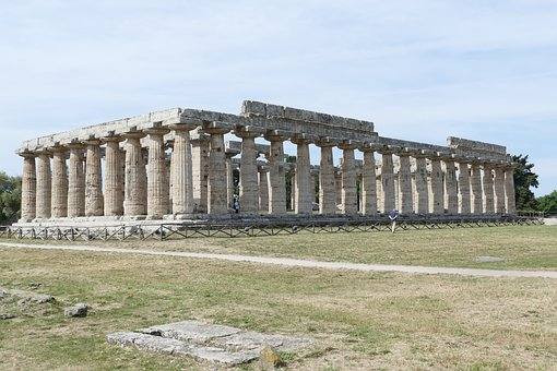 Paestum, Italy, Antiquity, Salerno, Architecture