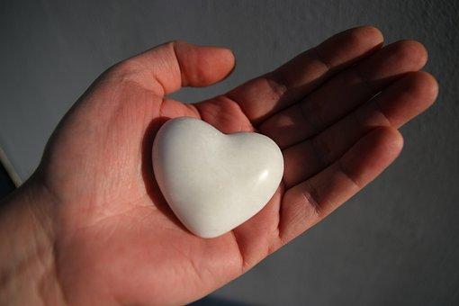 Heart, Hand, Love, Stone