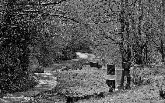 Locks, Cwmbran, Pontnewydd, Canal, Mon Brec, Disused