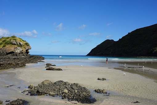 Beach, Spirits Bay, New Zealand