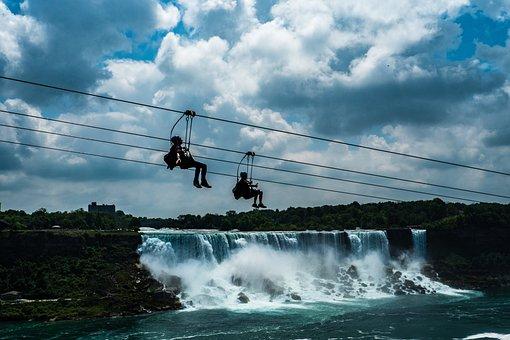 Niagara Falls, Canada, United States, Sky Rider