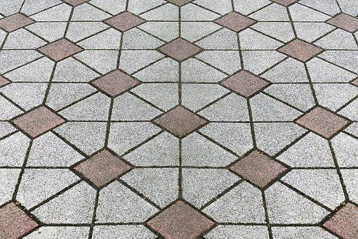 Patch, Flooring, Ornament, Sidewalk, Paving Stones