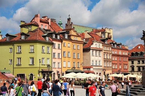 Poland, City, Tourism, Building, Architecture, Human
