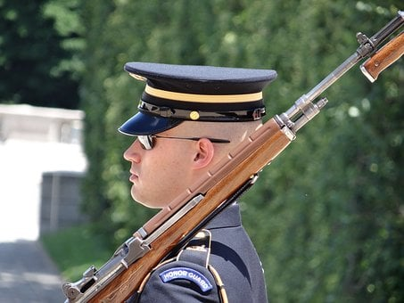 Army, Honor Guard, Military, Uniform, Guard, Rifle
