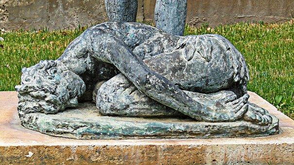 Sculpture, Statue, Figure, Stone