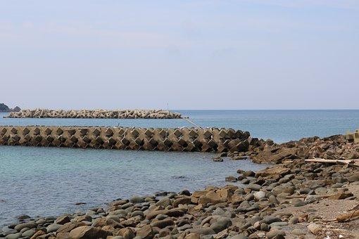 Sea, Tsushima, Sky